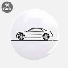 "Chrysler 300C 3.5"" Button (10 pack)"