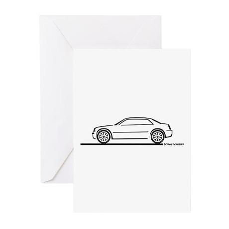 Chrysler 300C Greeting Cards (Pk of 10)