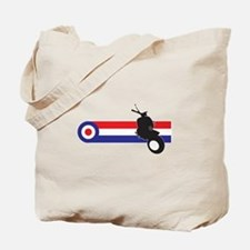 VESPA STRIPES Tote Bag