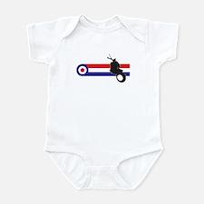 VESPA STRIPES Infant Bodysuit