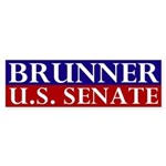 Jennifer Brunner for Senate Bumper Sticker