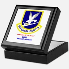 Security Forces Keepsake Box