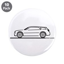 """Chrysler 300 Station Wagon 3.5"""" Button (10 pack)"""