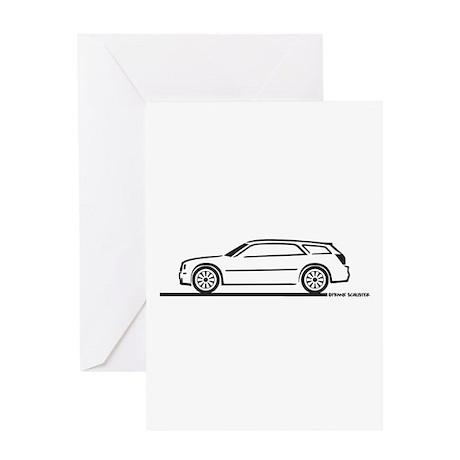Chrysler 300 Station Wagon Greeting Card