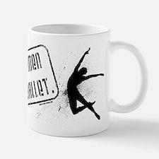 Real Men Do Ballet Small Small Mug