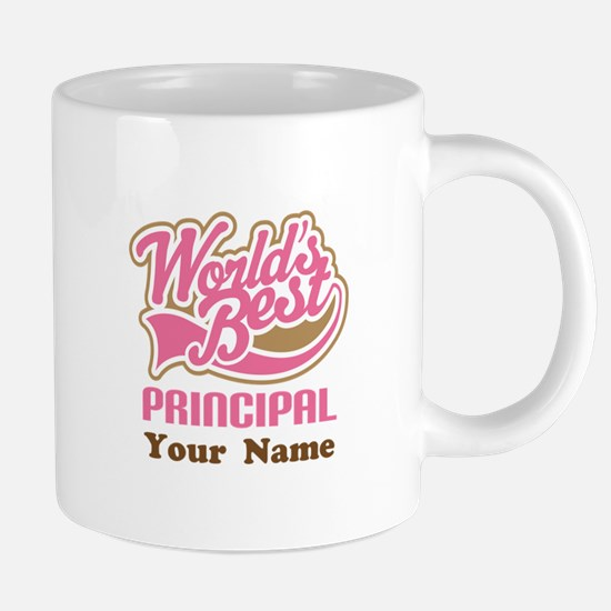 Personalized School Princip 20 oz Ceramic Mega Mug