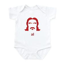 Al Swearengen Red Hirsute Infant Bodysuit