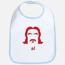 Al Swearengen Red Hirsute Bib