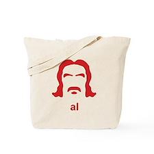 Al Swearengen Red Hirsute Tote Bag