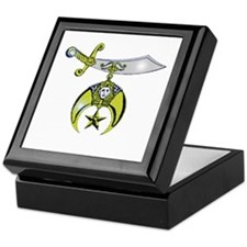 Shriner Black Keepsake Box