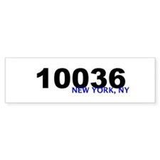 10036 Bumper Bumper Sticker