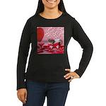 Valentine's Day #5 Women's Long Sleeve Dark T-Shir