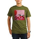 Valentine's Day #5 Organic Men's T-Shirt (dark)
