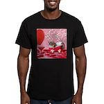 Valentine's Day #5 Men's Fitted T-Shirt (dark)