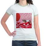 Valentine's Day #5 Jr. Ringer T-Shirt
