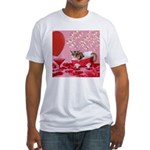 Valentine's Day #5 Fitted T-Shirt