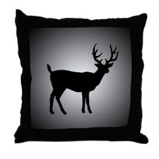 SHADOW BUCK Throw Pillow