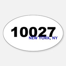 10027 Oval Decal