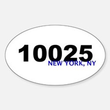 10025 Oval Decal