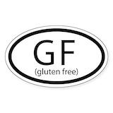Gluten free Bumper Stickers