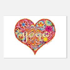 Yoga Retro Kinesthetic Intellectual Postcards (Pac