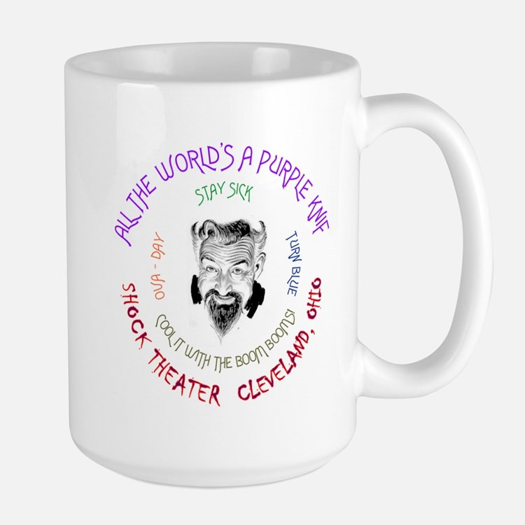 Stay Sick and Turn Blue Large Mug