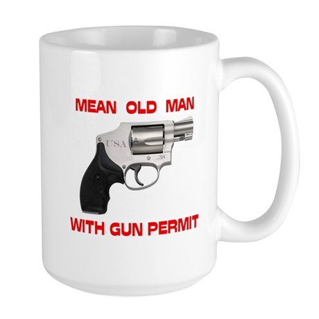 DON'T MESS WITH HIM ! - Large Mug