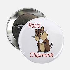 Rabid Chipmunk Button
