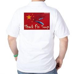 Golf Shirt anti shark finning 1