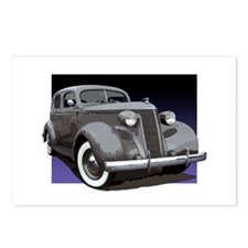 The 1937 Studebaker Dictator Postcards (Package of