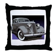 The 1937 Studebaker Dictator Throw Pillow