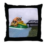 Jetski Throw Pillow