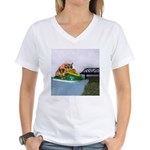 Jetski Women's V-Neck T-Shirt