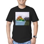 Jetski Men's Fitted T-Shirt (dark)