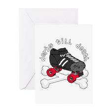 Derby Till Death Greeting Card
