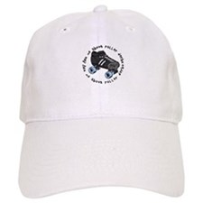 Ask Me About Roller Derby Baseball Cap