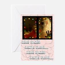 Zombie Santa Christmas Card (Single Card)