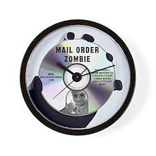 Mail Order Zombie Logo Wall Clock