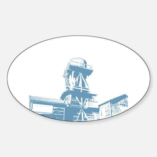 WaterTower Oval Decal