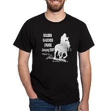Golden Gauchos Black T-Shirt