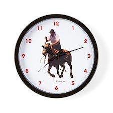 Golden Gauchos Wall Clock