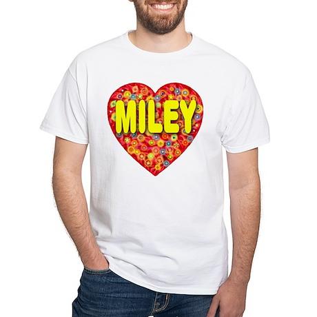Miley White T-Shirt