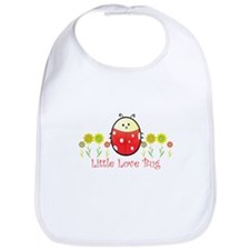 Cute Little sister lady bug Bib