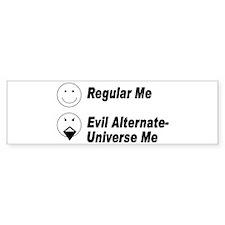 Evil Me Bumper Bumper Sticker