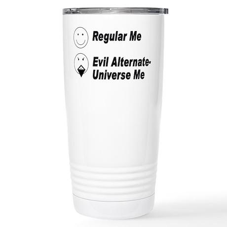 Evil Me Stainless Steel Travel Mug