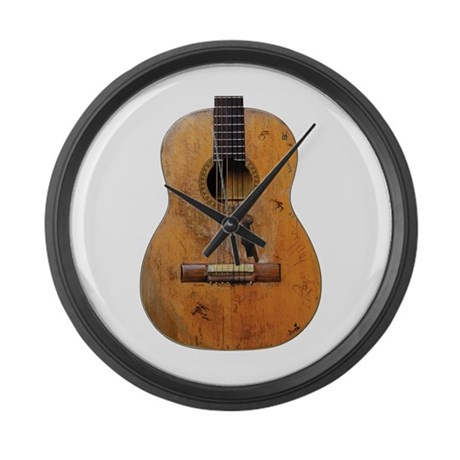 Trigger, Willy Nelson's Guitar Large Wall Clock