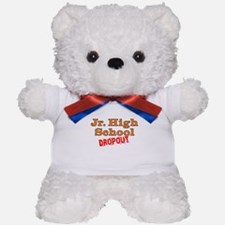 Junior High School Dropout Teddy Bear