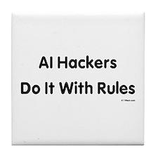 Funny List rules Tile Coaster
