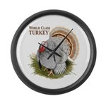 World Class Turkey Large Wall Clock