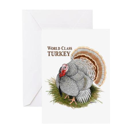 World Class Turkey Greeting Card